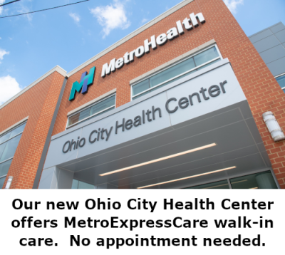 Our new Ohio City Health Center offers same-day, walk-in care.