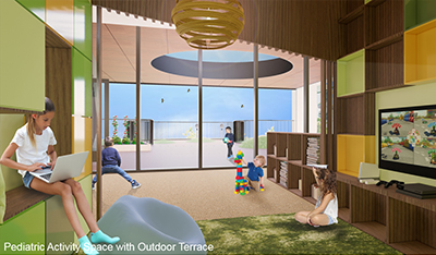 New Hospital Pediatric Activity Space